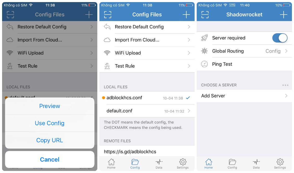 Hướng dẫn chặn mọi quảng cáo trên IOS iPhone,iPad | chiaseacc com