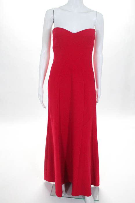 BCBg Max Azria Red On Guard Gown Size 10 $398 10172861 | eBay