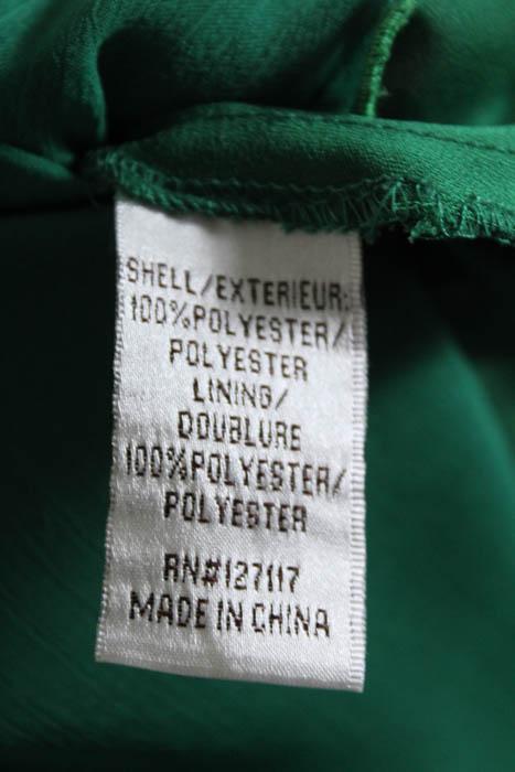 Badgley Mischka Fluorite Emerald Green Gala Gown Size 12 $740 ...