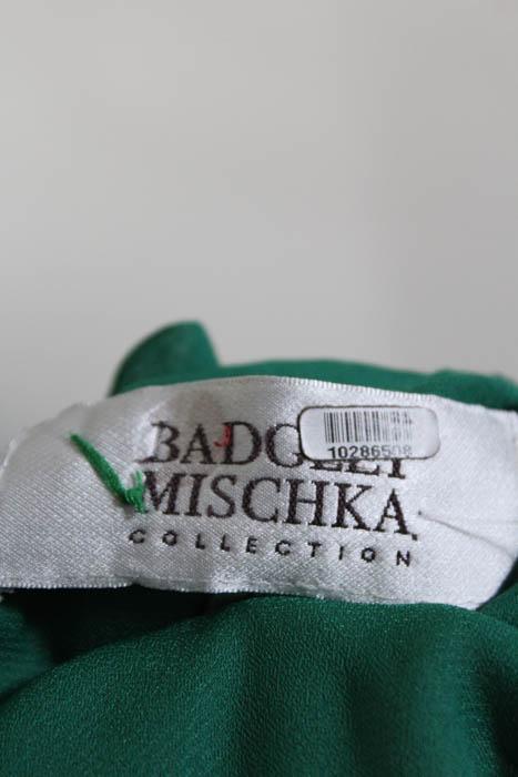 Amazing Badgley Mischka Fluorite Emerald Gala Gown Image - Best ...