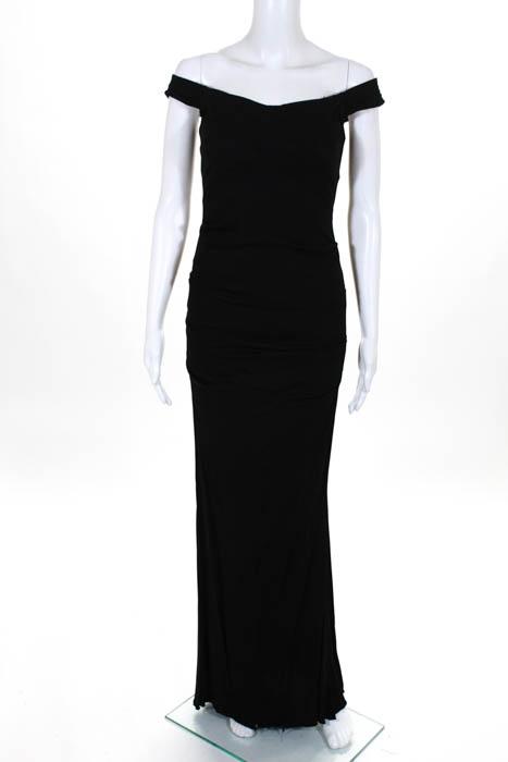 one shoulder ruched gown - Black Nicole Miller PY5AG0