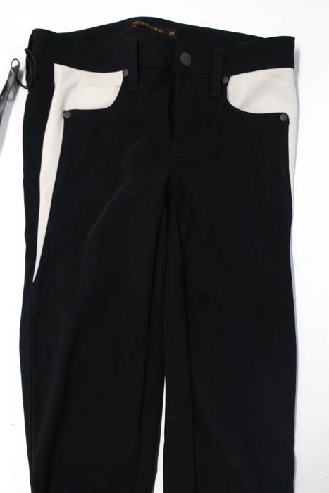 Genetic-Denim-Black-Gray-NEW-Zipper-Fly-Skinny-Jeans-Size-24