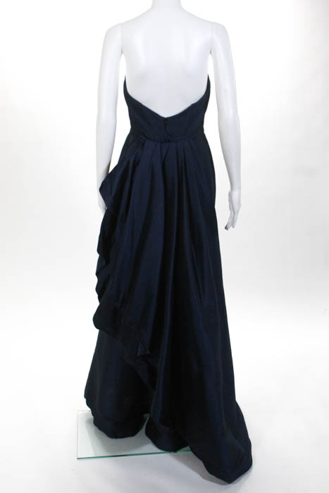 Ml Monique Lhuillier Gown 4 Blue | eBay