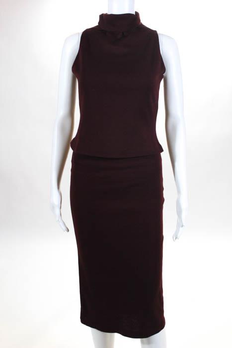 Yigal azrouel red maxi dress