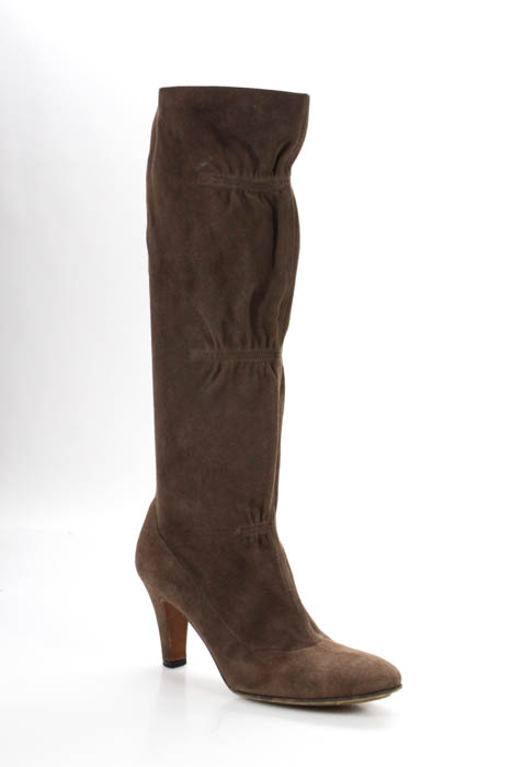 cheap order Moschino Cheap and Chic Suede Knee-High Boots amazon sale online eastbay cheap price clearance release dates qwfg9beI