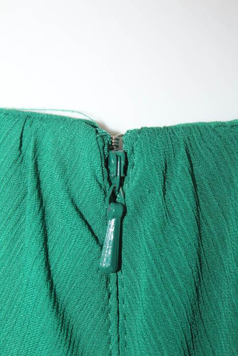 Badgley Mischka Green Fluorite Emerald Gala Gown $740 Size 10 ...