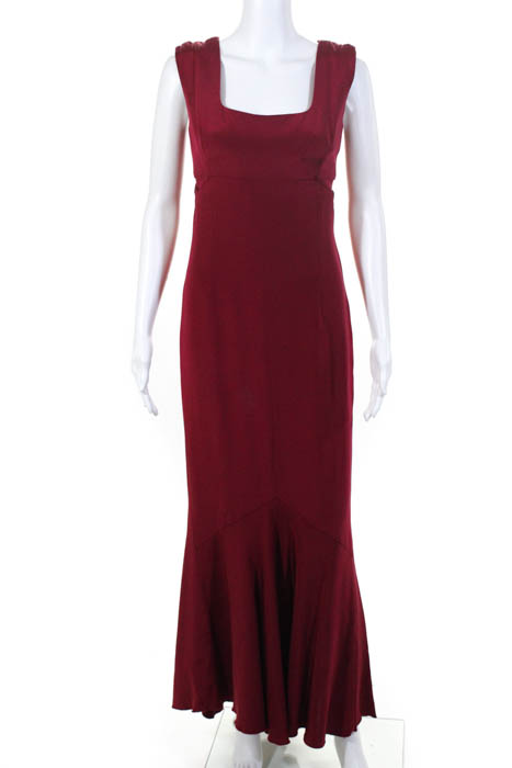 Narciso Rodriguez Red Red Velma Gown Size 40  10173405