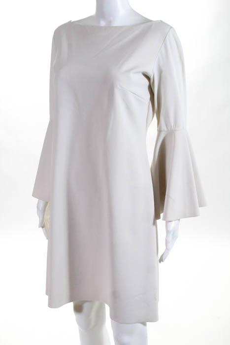 Chiara-Boni-La-Petite-Robe-White-Natalia-Hourglass-Dress-595-Size-EUR-48-104745 thumbnail 2