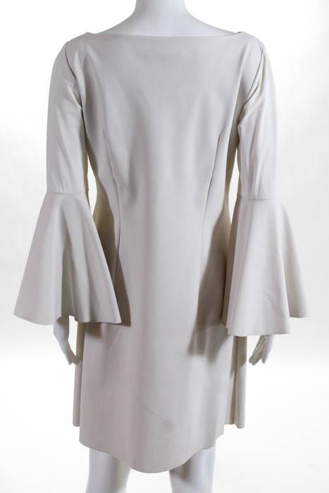 Chiara-Boni-La-Petite-Robe-White-Natalia-Hourglass-Dress-595-Size-EUR-48-104745 thumbnail 3