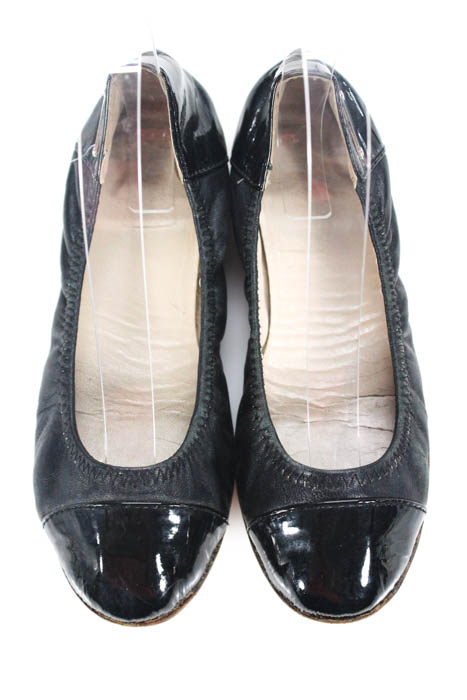 d3fa523eacc8 KORS Michael Kors Black Leather Ballet Flats Size 6M