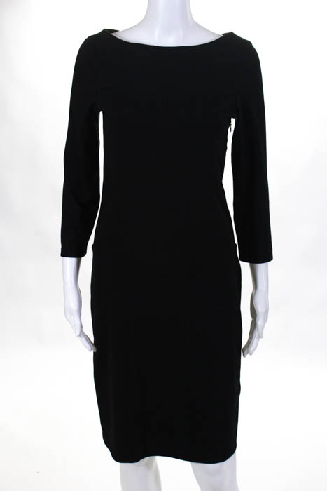 Rebecchi Sleeve Con Black Stretch Body Alpha Womens Massimo Long 8nOk0wP