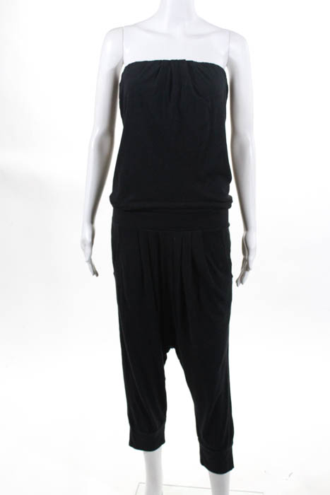 9d280b63599e Juicy Couture Women s Jumpsuit Size Small Dark Gray Strapless Stretchy Pull  On
