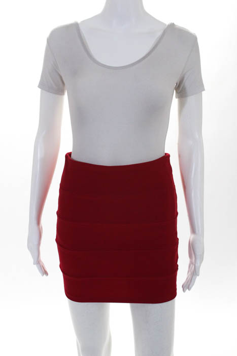 a6001e389f BCBG Max Azria Millau Womens Skirt Size Extra Small LOT 2 Blue Red ...