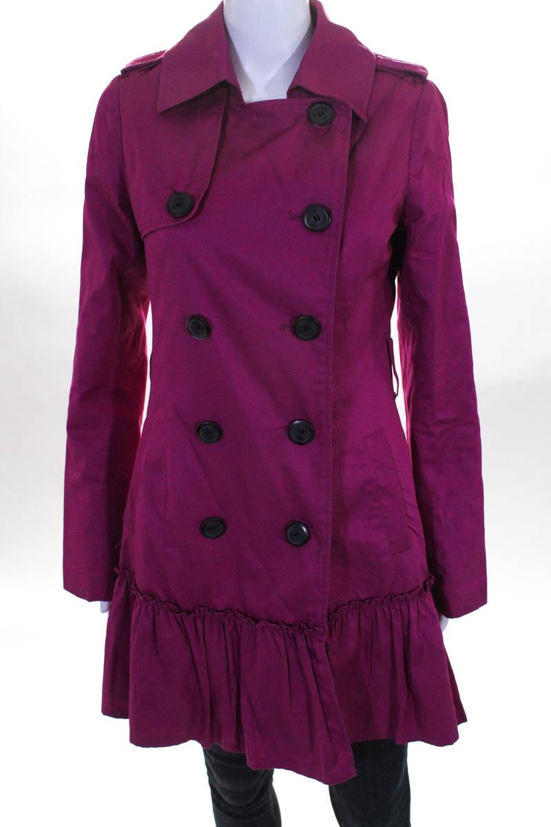 a3c5371d585 BB Dakota Womens Jacket Size Small Pink Long Sleeve Classic Neckline ...