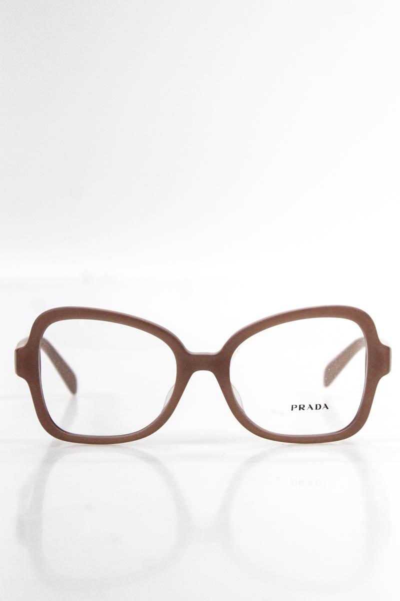 8104120c532f Details about Prada Womens Eyeglasses VPR 25S-F Pink Oversized Plastic  Frames MSRP  290 NEW