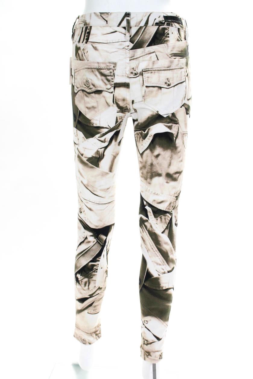 1fd26e12fb252 Artelier Nicole Miller Womens Skinny Slim Cut Jeans Graphic Print ...