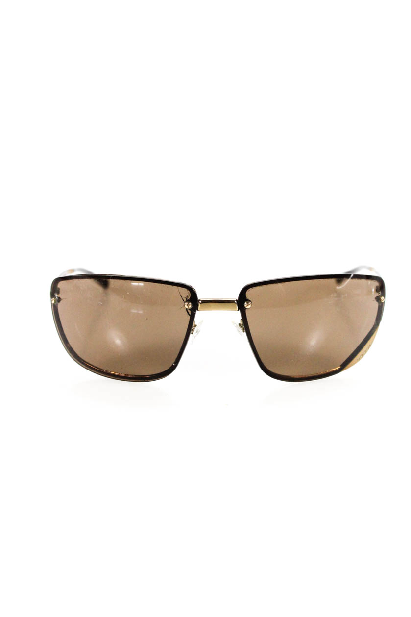 6ac08d6b7d7 Details about Gucci Womens Gold Tone Square Frame GG 1692 S 577IU Sunglasses