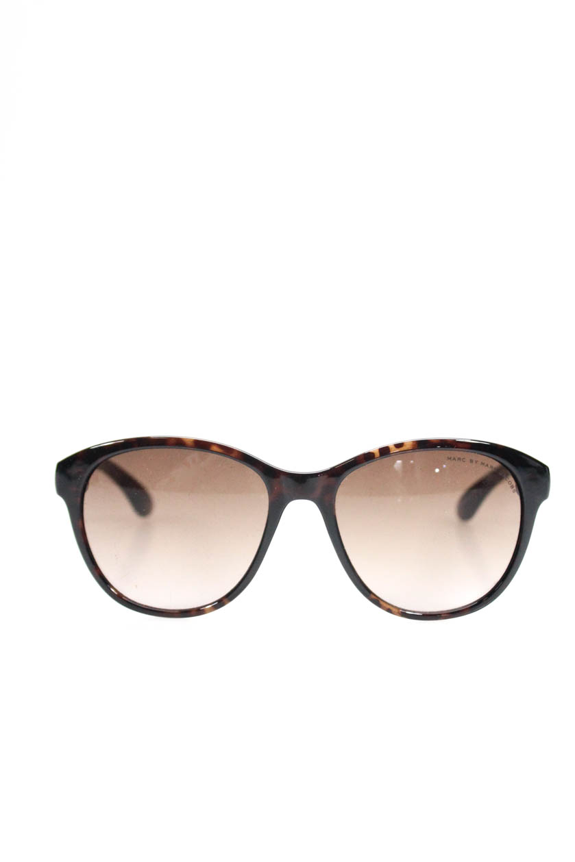 Details about Marc By Marc Jacobs Womens Oversized Round Sunglasses Brown  Tortoise d30ce06260