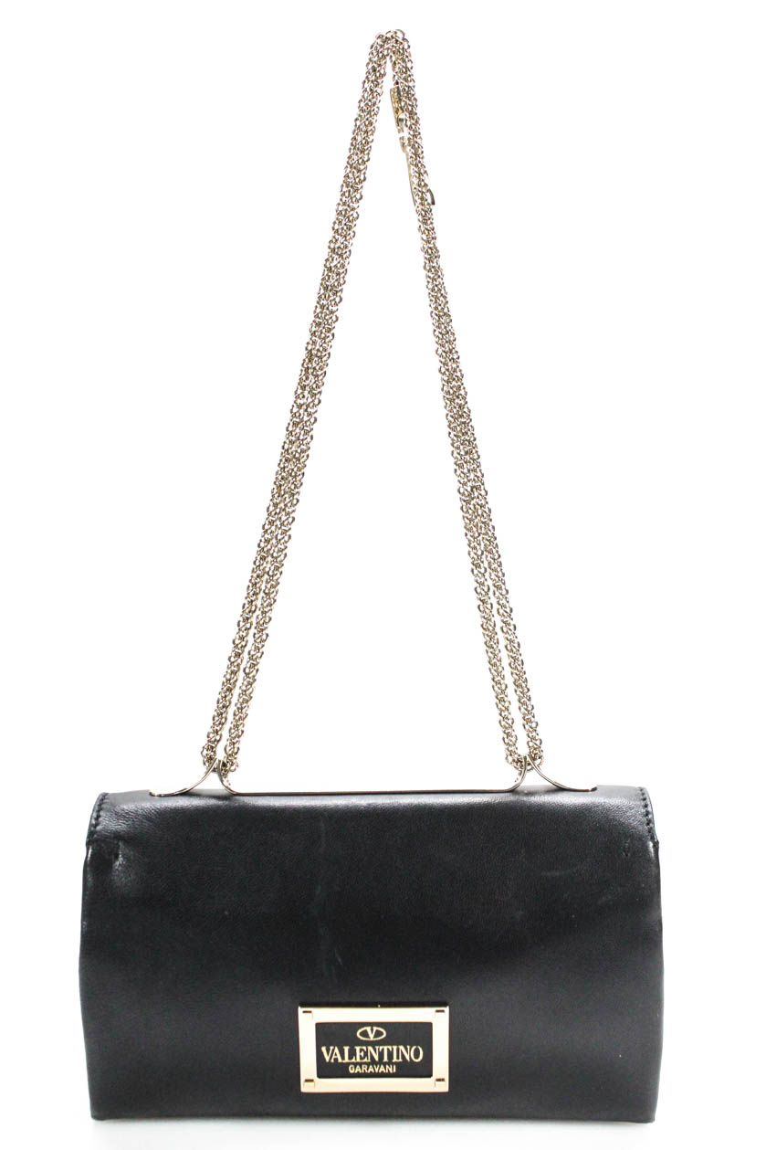 20ba96f0626 Valentino Garavani Va Va Voom Rockstud Shoulder Handbag Black ...