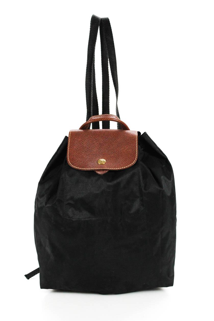 63294f7aed9b Longchamp Le Pliage Backpack Black 671194207058