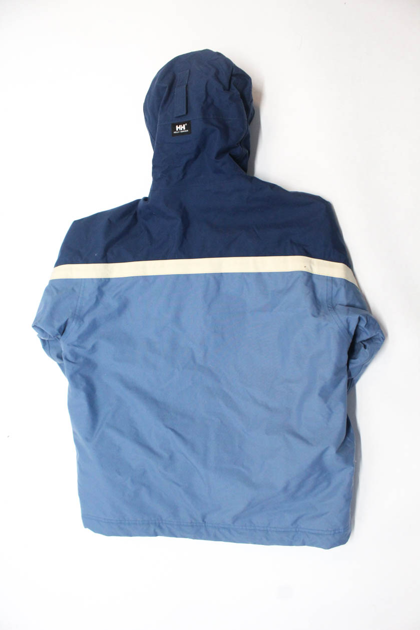 500cfb356c4 Details about Helly Hansen Childrens Boys Hooded Full Zip Jacket Blue Size  12