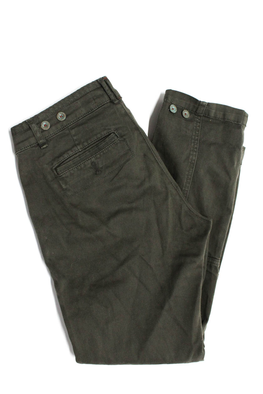 0a1f40d0861 Details about Pilcro and the Letterpress Anthropologie Womens Skinny Leg  Jeans Green Size 26