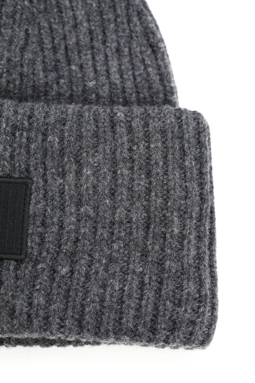 5668fd36b60 ACNE Studios Wool Winter Beanie Hat Size Medium Charcoal Gray