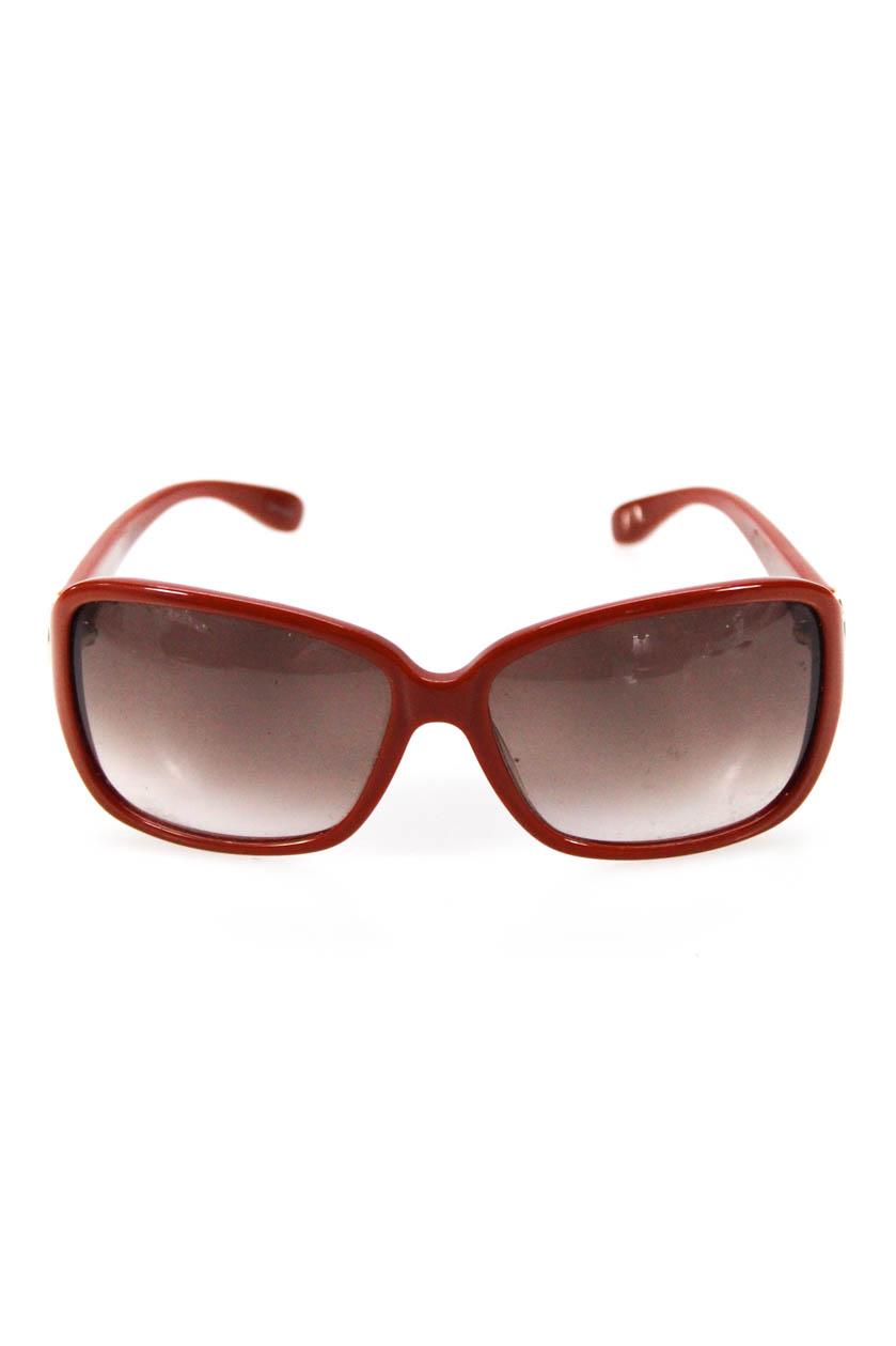 cb1ca7aca0e84 Details about Marc By Marc Jacobs Womens Square Gradient MMJ 02I S  Sunglasses Orange Plastic