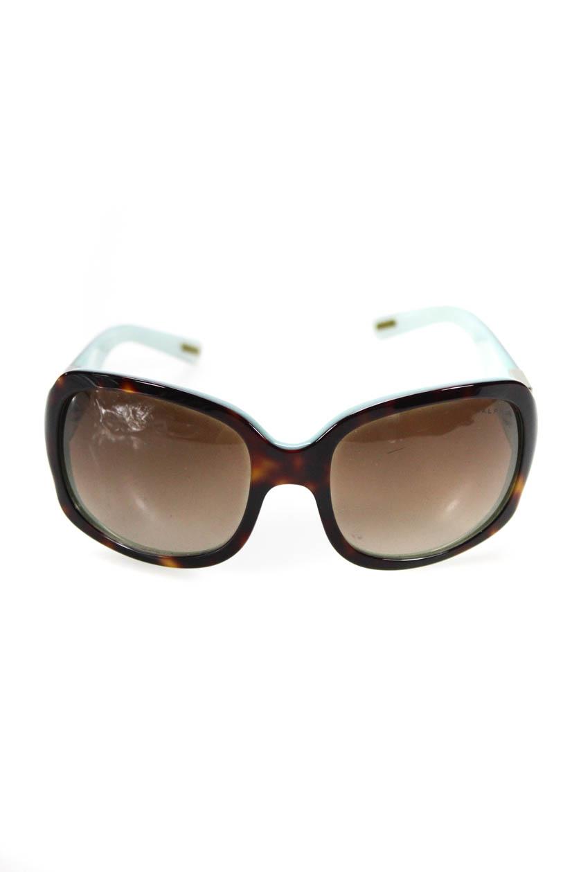 1ed58b2dd899 Details about Ralph Ralph Lauren Womens Square RA5031 Sunglasses Brown  Tortoiseshell Gradient