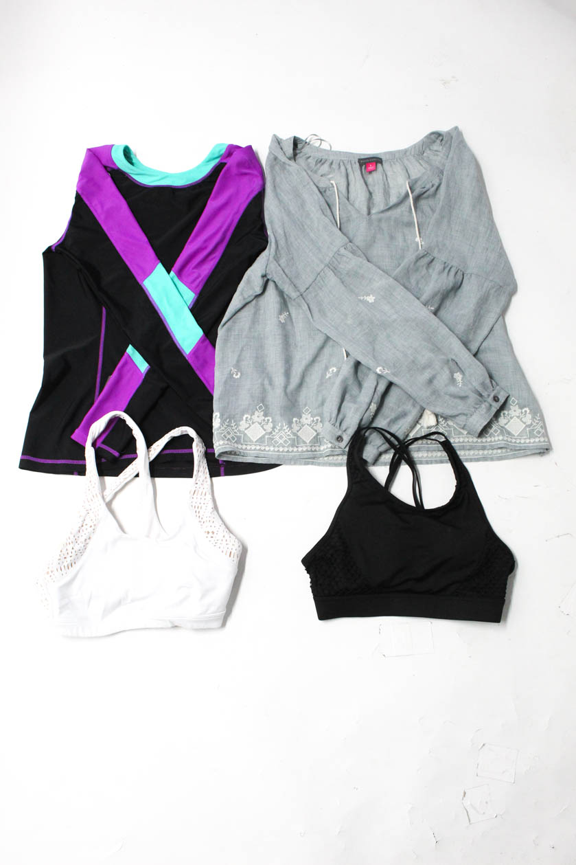 356c31628d354 Alo Gerry Vince Camuto Nordstrom Rack Womens Sports Bras Shirts Size S Lot 4