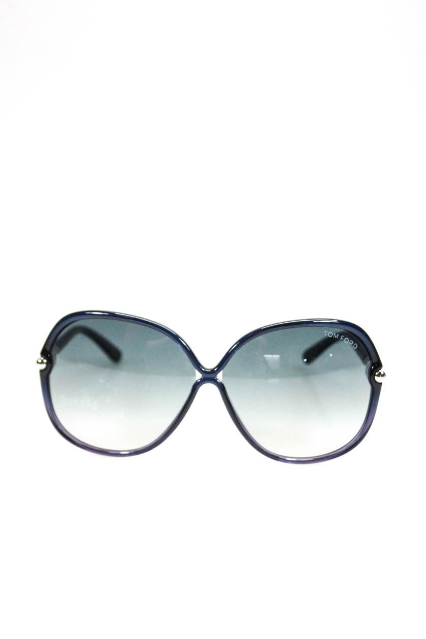 0a346dd9ad25 Tom Ford Unisex TF224 Plastic Frame Islay Sunglasses Black Gradient ...