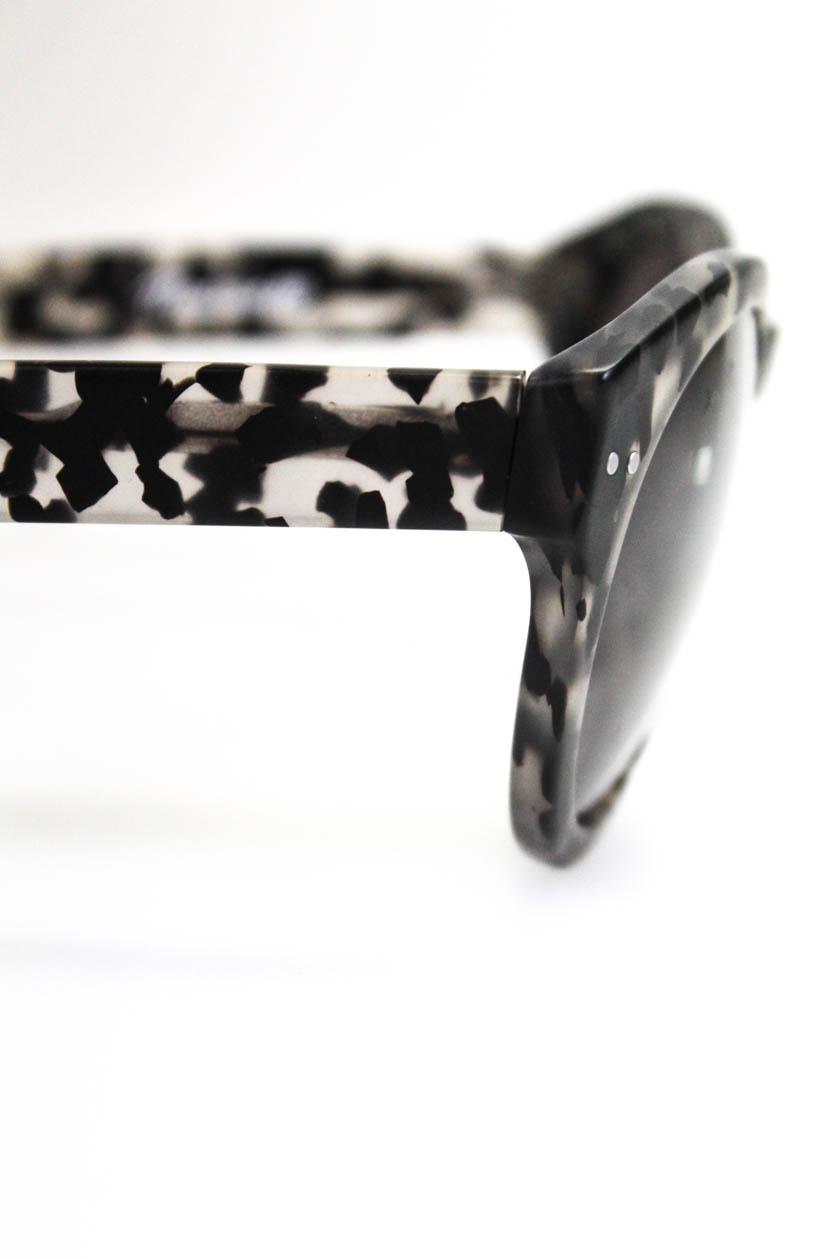28530d9709b2e Madewell Womens Oversize Round Sunglasses Brown Black Tortoise