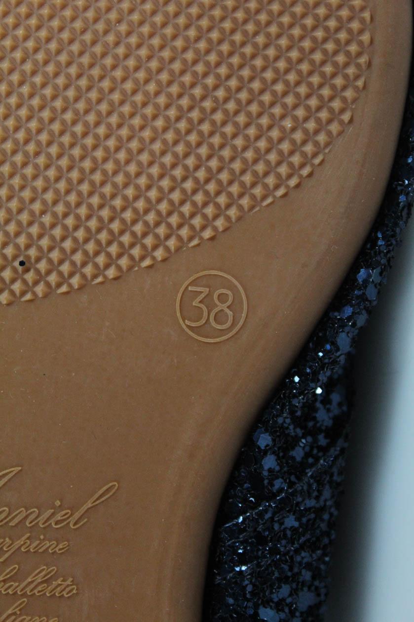 90a3731fa ... Flats Blue Glitter Size 38 8. Item Description. Description: Glitter; Lace  Up Closure; EUR 38. Condition: Pre-Owned; Light spots on the insoles