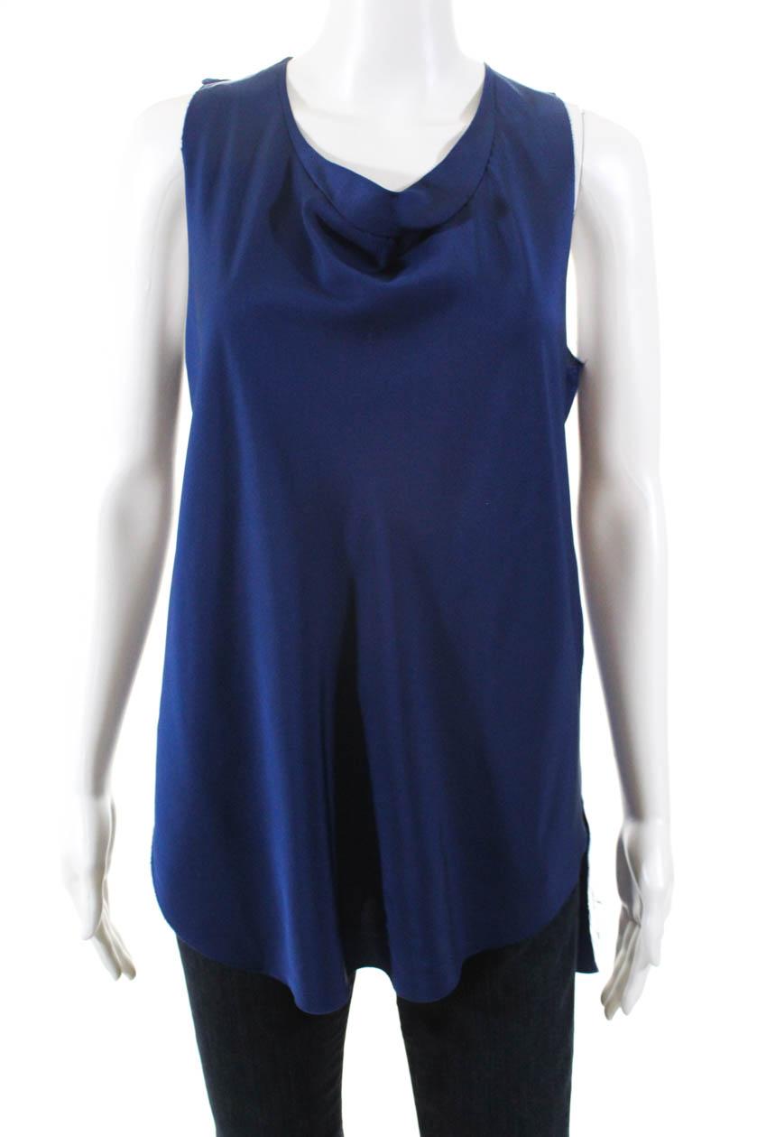 3-1-Phillip-Lim-Womens-Silk-Sleeveless-Blouse-Blue-Size-4