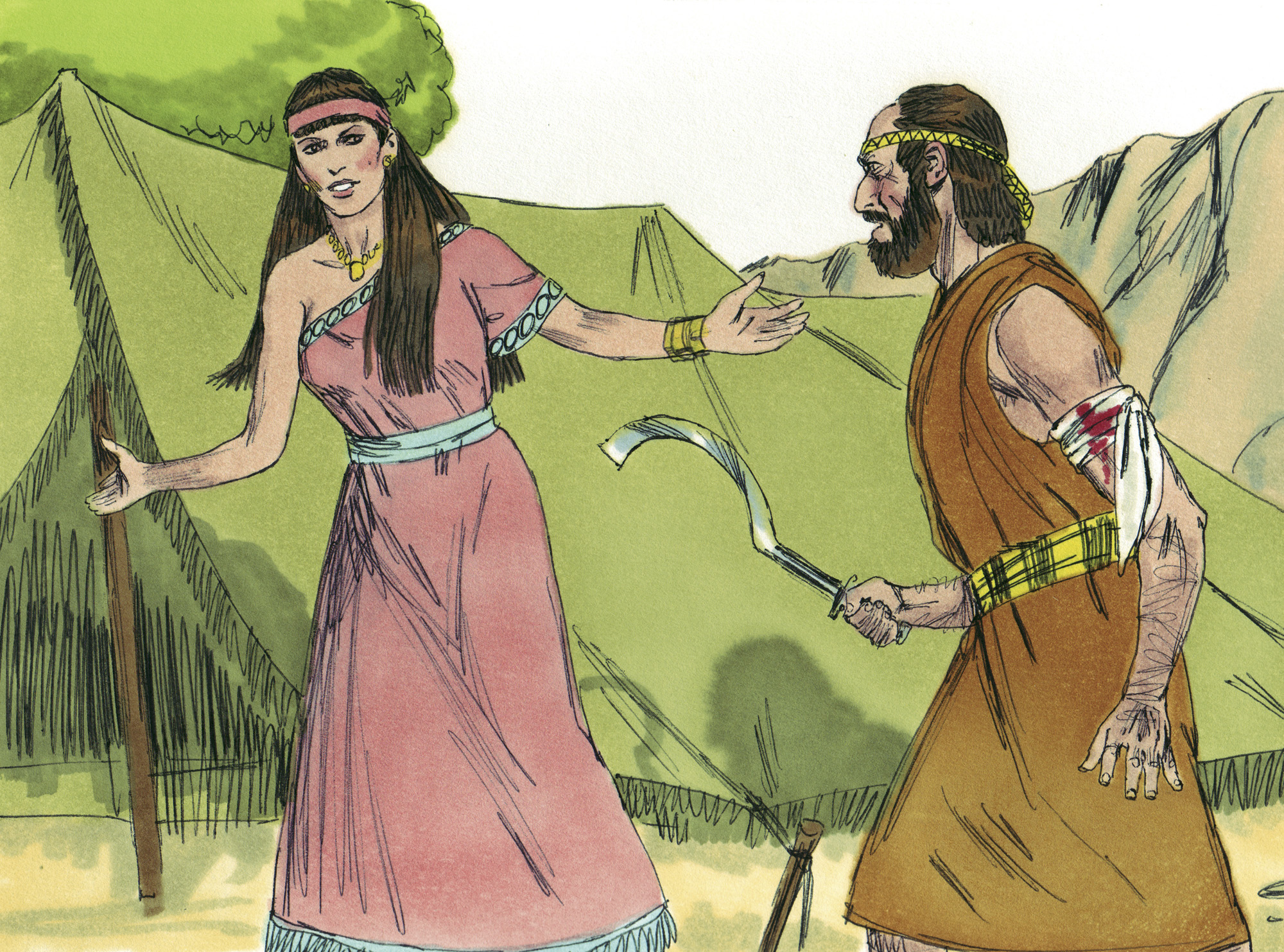 Lesbians ok reference in the bible