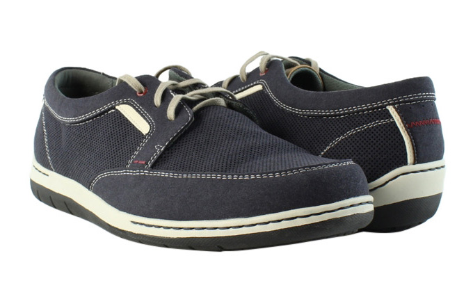 Dunham by New Balance Mens 543 Blue Boat Shoes Casual Shoes Size 10.5  (227680)