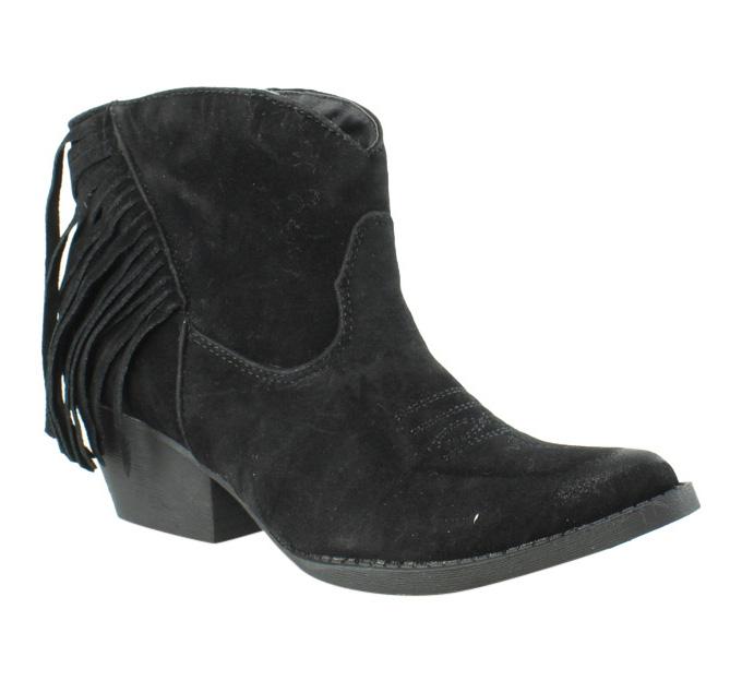 Spite Womens Spektor Black Cowboy Boots Size 6.5 (233654)