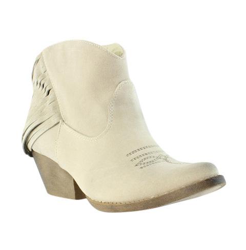 Spite Womens Spektor Beige Cowboy Boots Size 7.5 (230295)