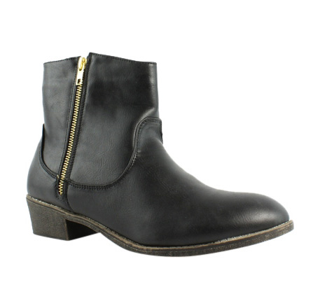 Diba Girl Womens Black Ankle Boots Size 10 (231803)