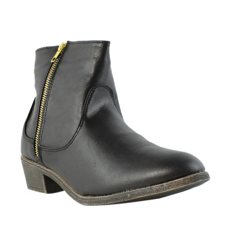 Diba Girl Womens 5465 Pine City Black Ankle Boots Size 8.5 (232111)