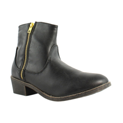 Diba Girl Womens 5465 Pine City Black Ankle Boots Size 6.5 (233097)