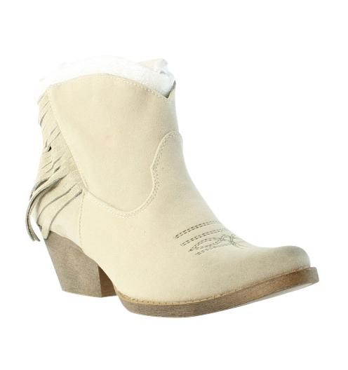 Spite Womens Spektor Beige Booties Size 7 (231763)
