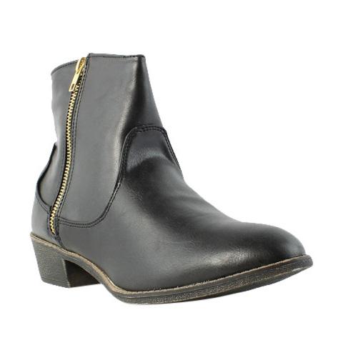 Diba Girl Womens 5465 Pine City Black Booties Size 9.5 (231816)
