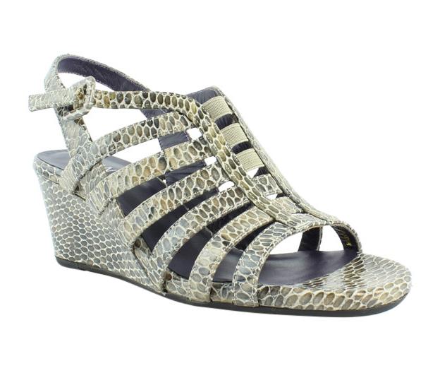 Womens Sandals Vaneli Maslyn Taupe Per Print/Match Elastic