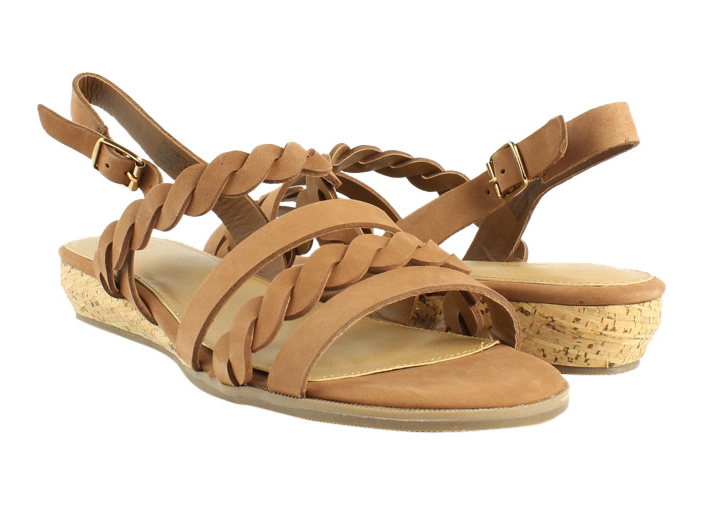 561cde3b11 New G.H. Bass & Co. Womens Jolie Whiskey Strappy Sandals Size 9.5