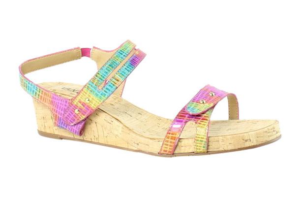 Womens Sandals Vaneli Kinna Multi Fuchsia Blix Print