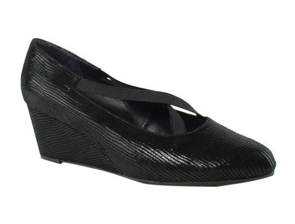 Womens Shoes Vaneli Trypsy Black Miniliz/Elastic