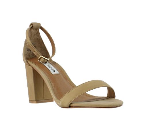 Steve Madden Womens Camel Sandals Heels Size 5.5 (245428)