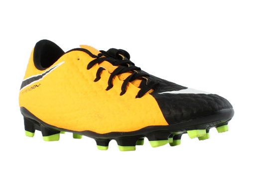 Nike Mens Hypervenom Phantom III Black Soccer Shoes Size 8 (238617)