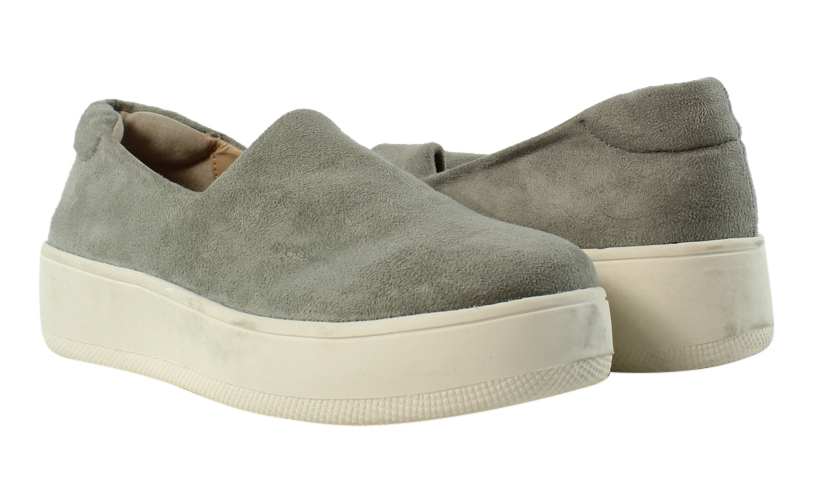 1dae2938b27 Steve Madden Womens Hilda Gray Running Shoes Size 5.5 (257770)